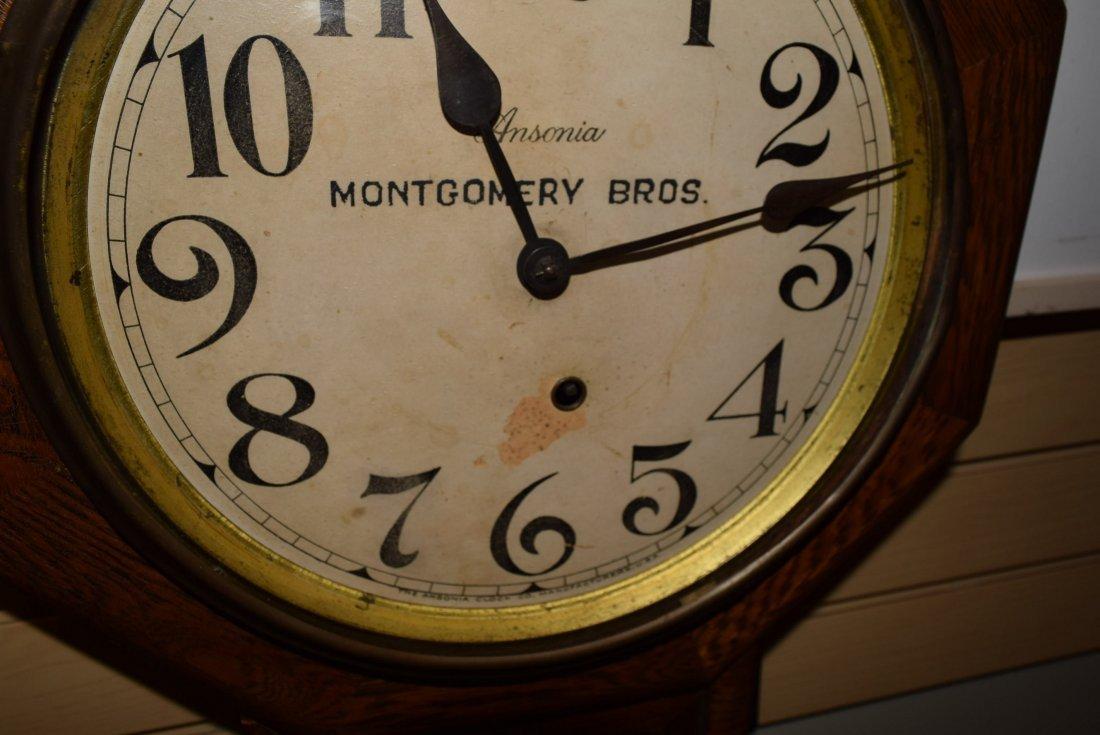 MONTGOMERY BROS WALL HANGING CLOCK - 2