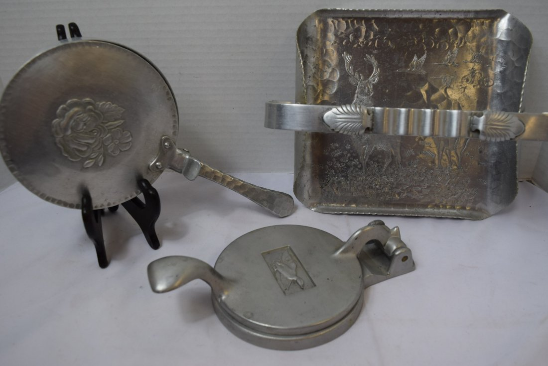 ALUMINUM POT; TRAY AND CAN CRUSHER