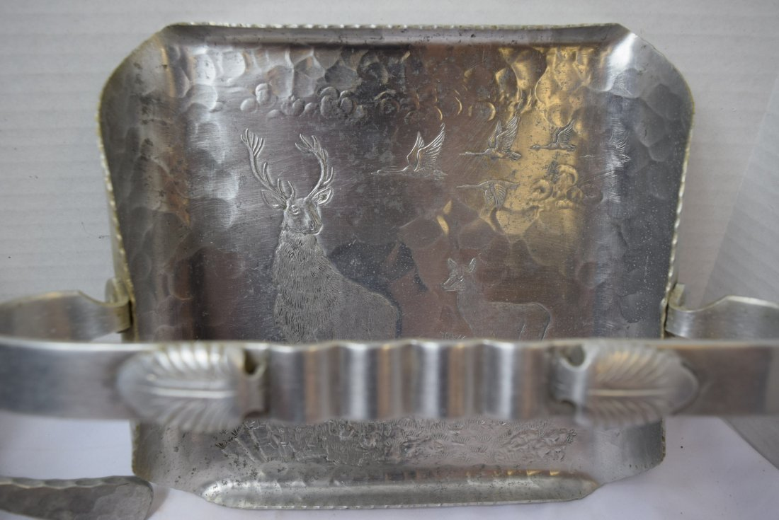 ALUMINUM POT; TRAY AND CAN CRUSHER - 2