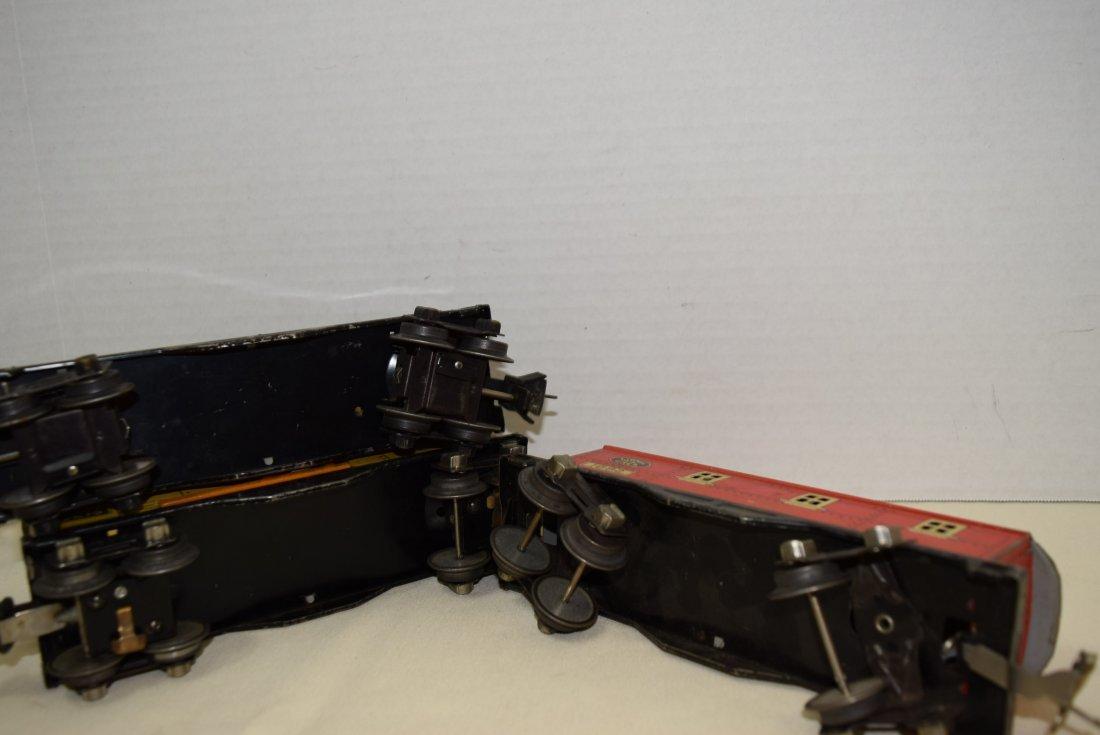LIONEL PREWAR TINPLATE ROLLING CARS - 8