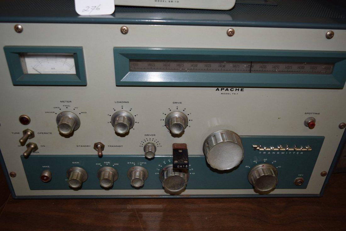 HEATHKIT APACHE TX-1 HAM RADIO WITH SIDE BAND ADAP - 2
