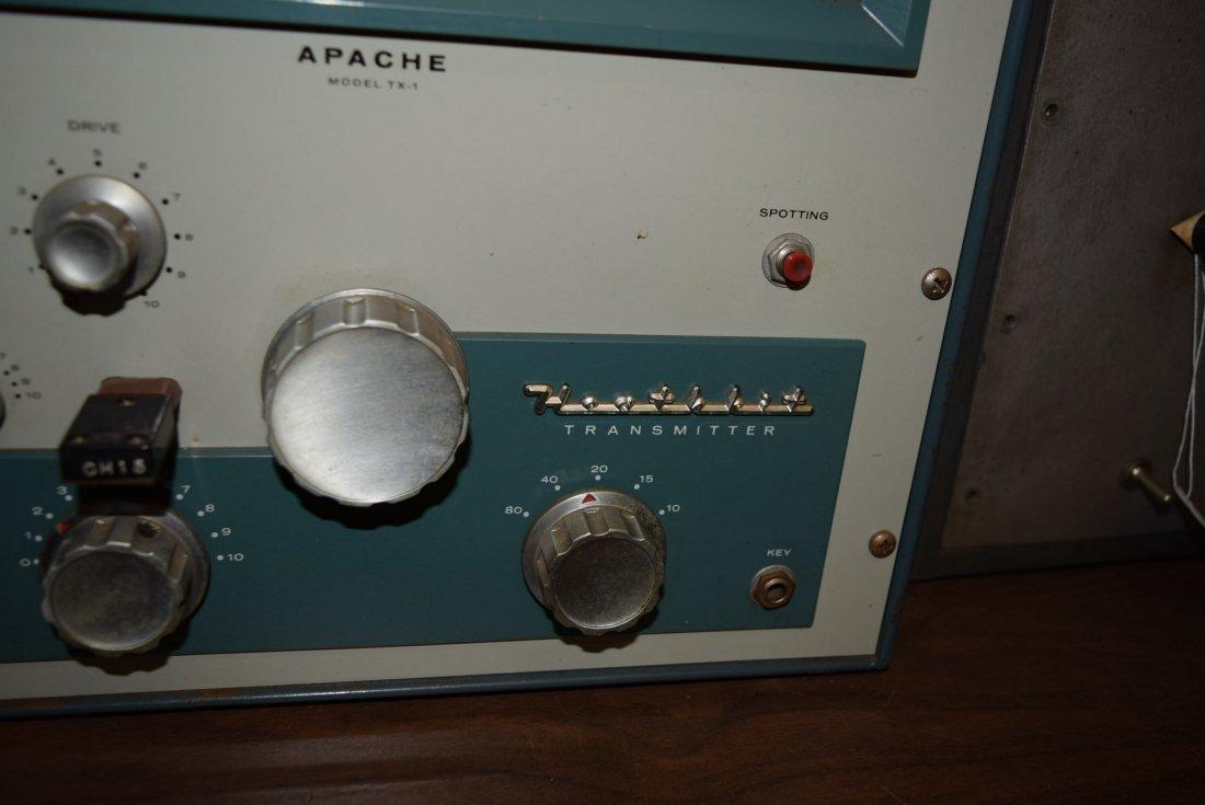HEATHKIT APACHE TX-1 HAM RADIO WITH SIDE BAND ADAP - 3