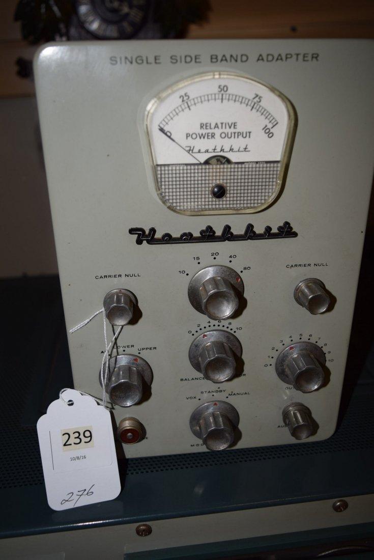 HEATHKIT APACHE TX-1 HAM RADIO WITH SIDE BAND ADAP - 4