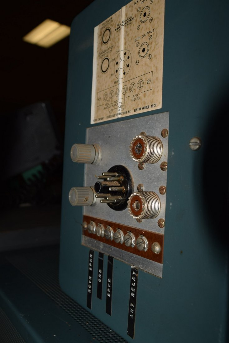 HEATHKIT APACHE TX-1 HAM RADIO WITH SIDE BAND ADAP - 7