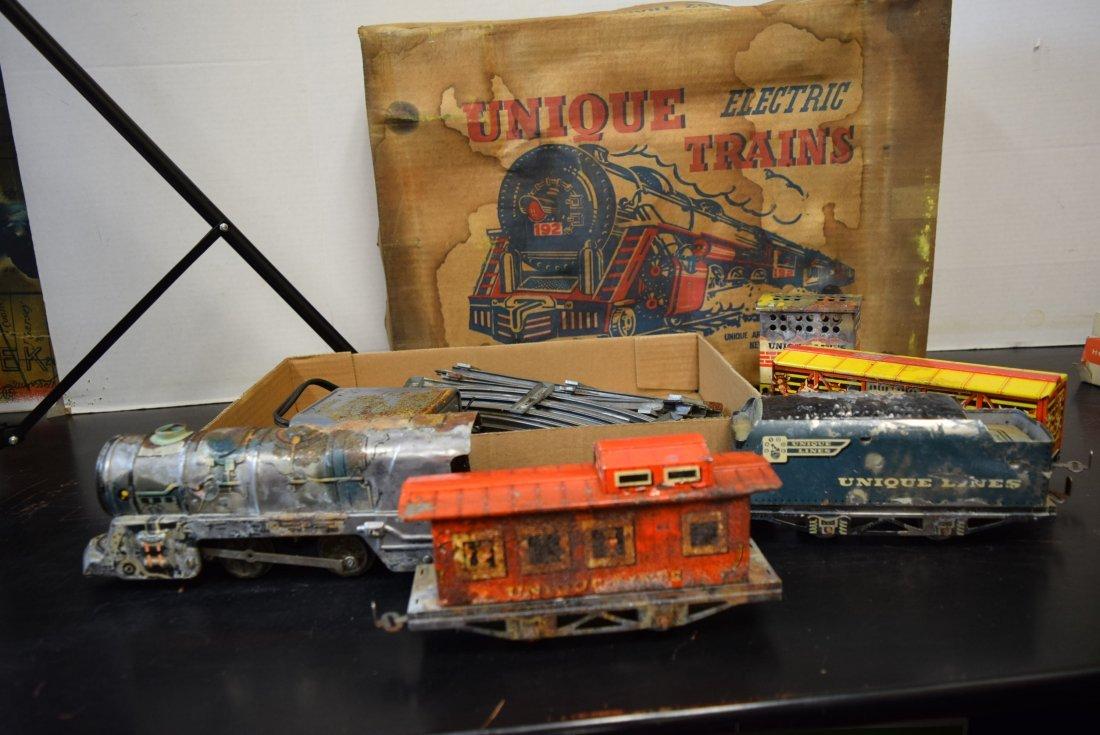 UNIQUE ART CIRCUS TRAIN SET IN ORIGINAL BOX