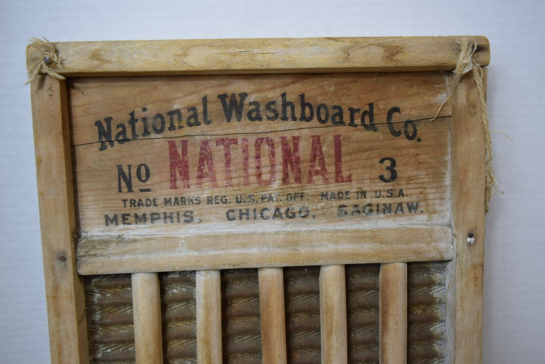 WASHBOARD BY NATIONAL WASHBOARD CO #3 - 2