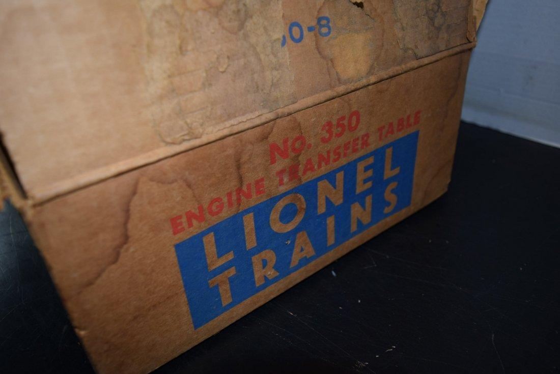 LIONEL ENGINE TRANSFER TABLE IN ORIGINAL BOX - 3