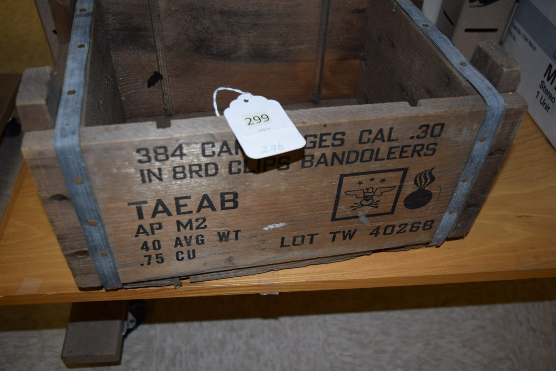 TAEAB BANDOLIERS AMMO BOX