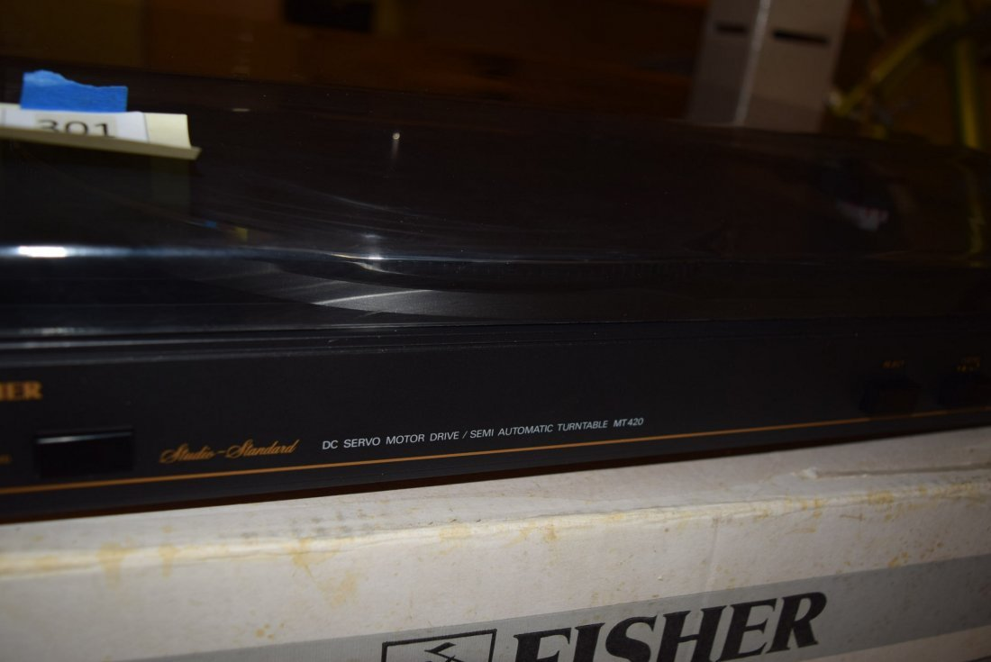 NEW IN BOX VINTAGE FISHER TURNTABLE - 2