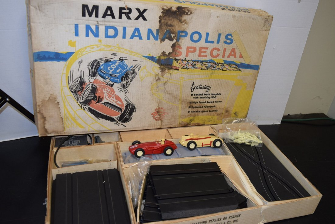 RARE MARX INDIANAPOLIS SPECIAL RACE TRACK-NEW OLD