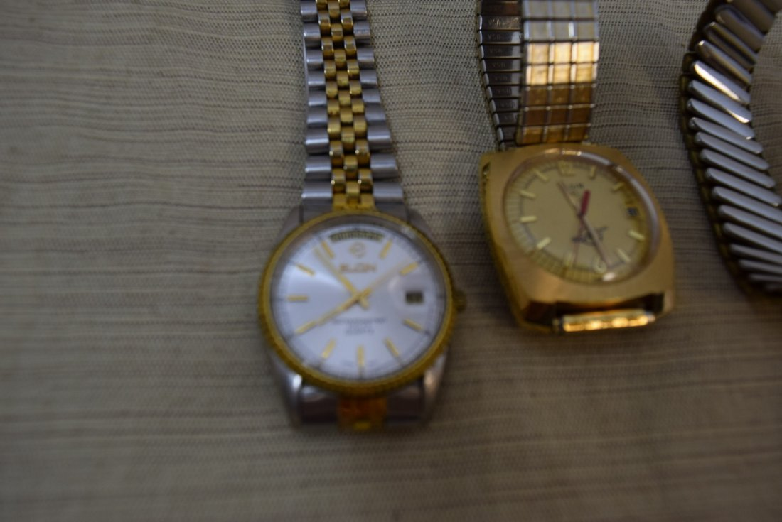 2 ELGIN AND 1 WITTNAUER WATCHES - 4