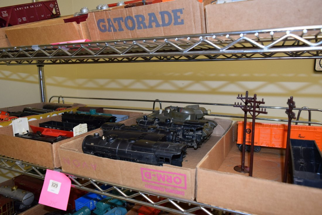 MOSTLY LIONEL TRAINS-ACCESSORIES AND MORE