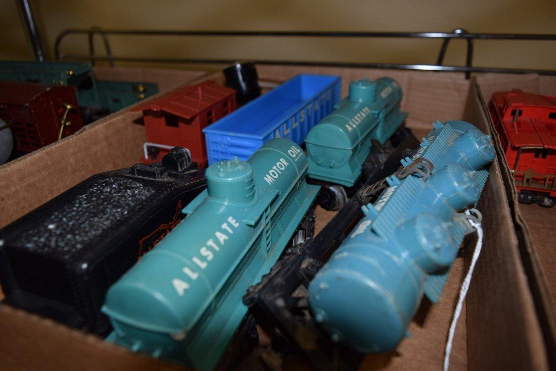 MARX & LIONEL TRAIN CARS SOME PREWAR - 4