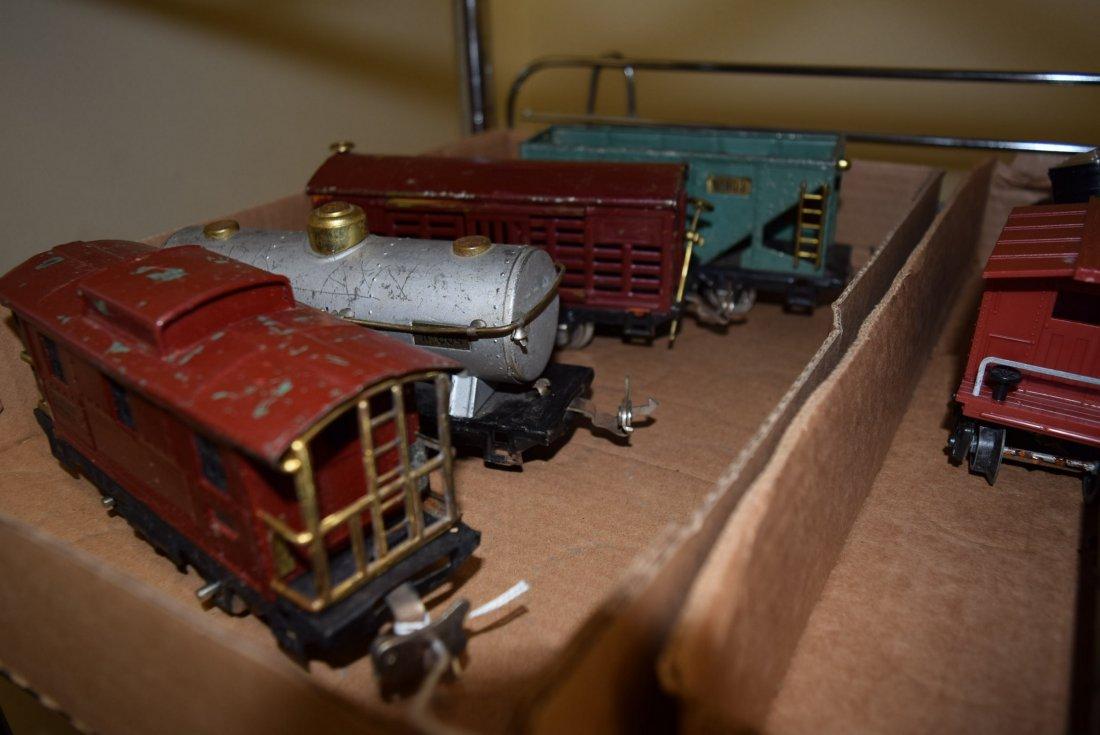 MARX & LIONEL TRAIN CARS SOME PREWAR - 5