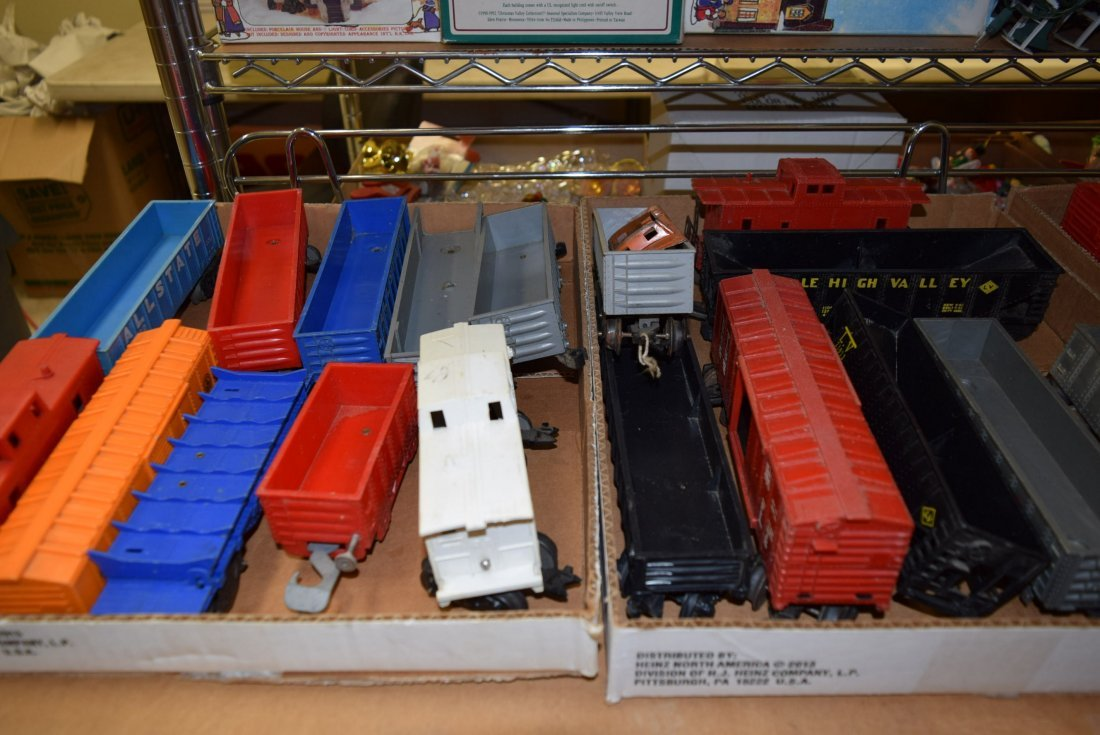 NUMEROUS MARX TRAIN CARS - 2