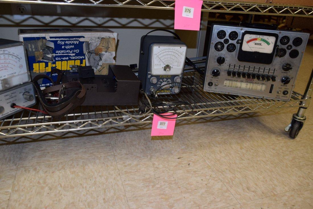 ELECTRONICS AND TUBE TESTER WATT