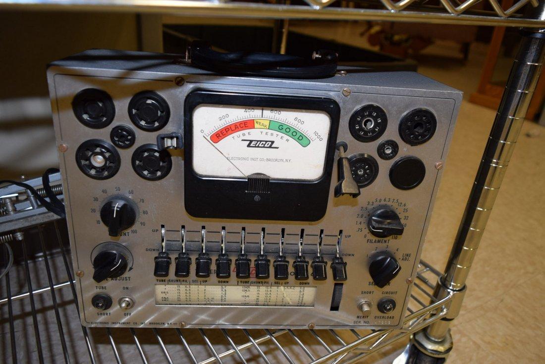 ELECTRONICS AND TUBE TESTER WATT - 3