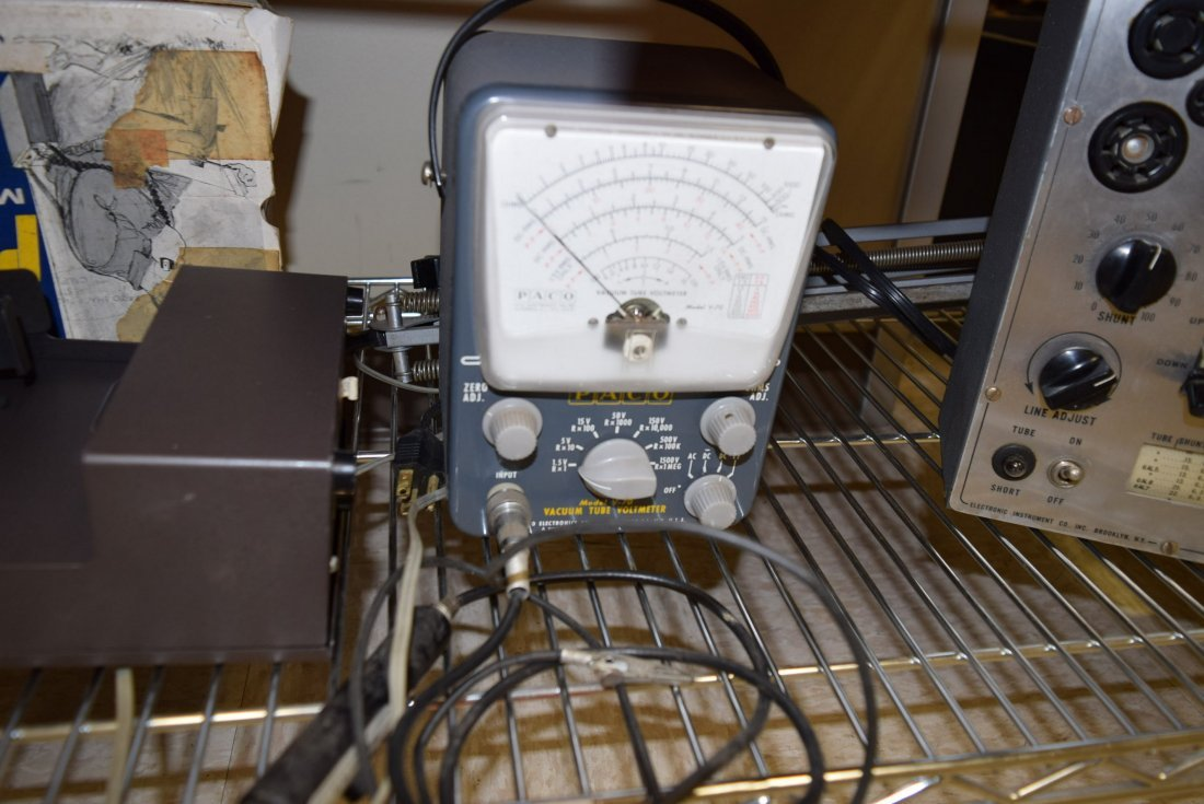 ELECTRONICS AND TUBE TESTER WATT - 4