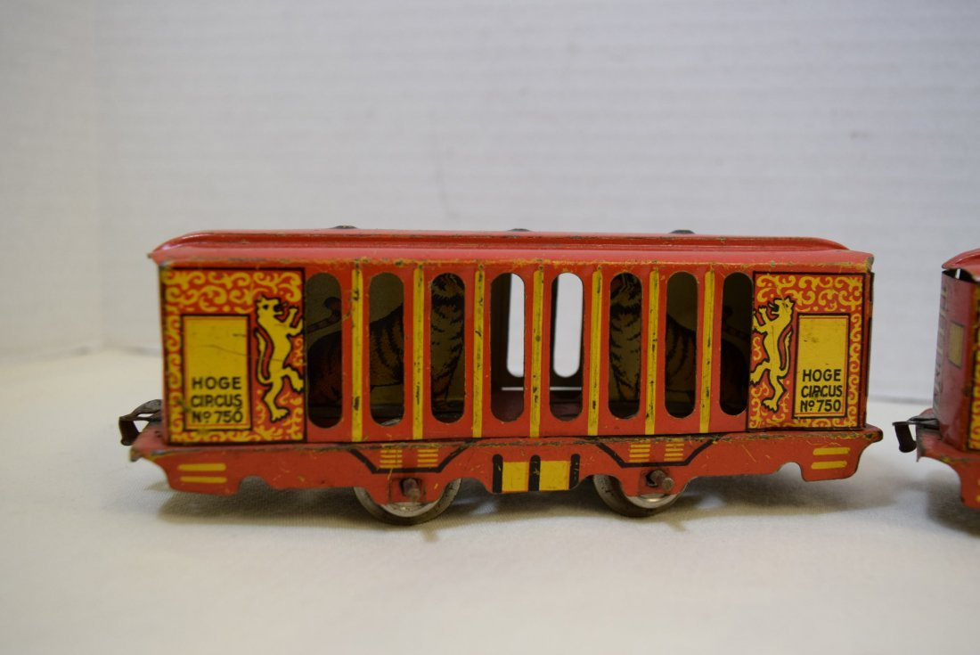 2 VERY RARE HOGE ANIMATED CIRCUS CARS - 2