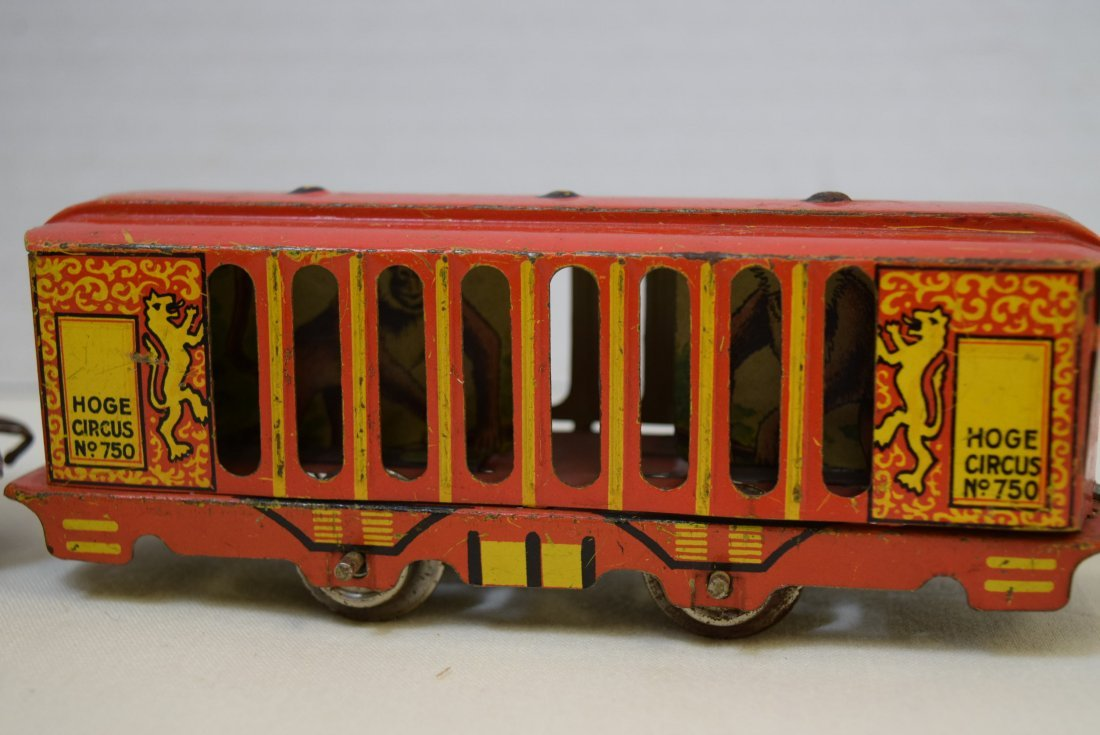 2 VERY RARE HOGE ANIMATED CIRCUS CARS - 3