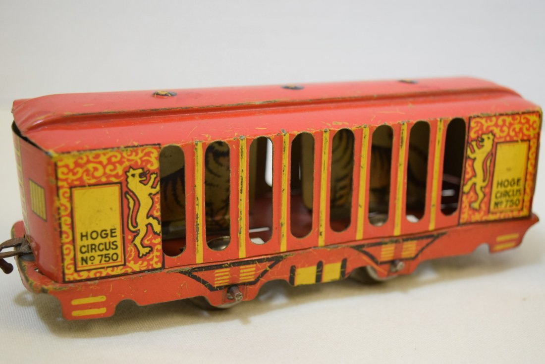 2 VERY RARE HOGE ANIMATED CIRCUS CARS - 5