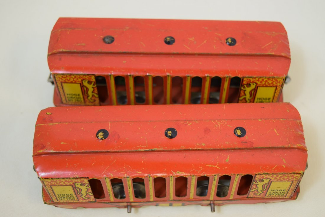 2 VERY RARE HOGE ANIMATED CIRCUS CARS - 6