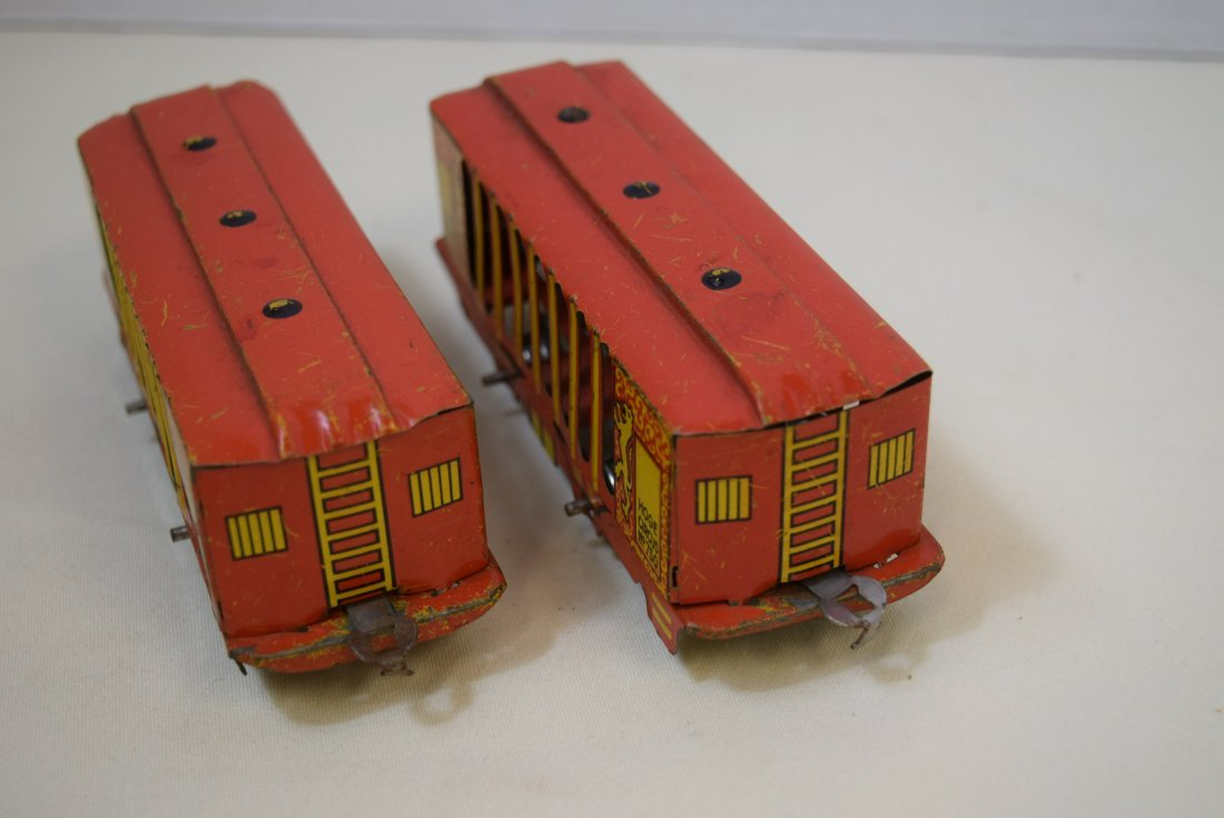2 VERY RARE HOGE ANIMATED CIRCUS CARS - 7