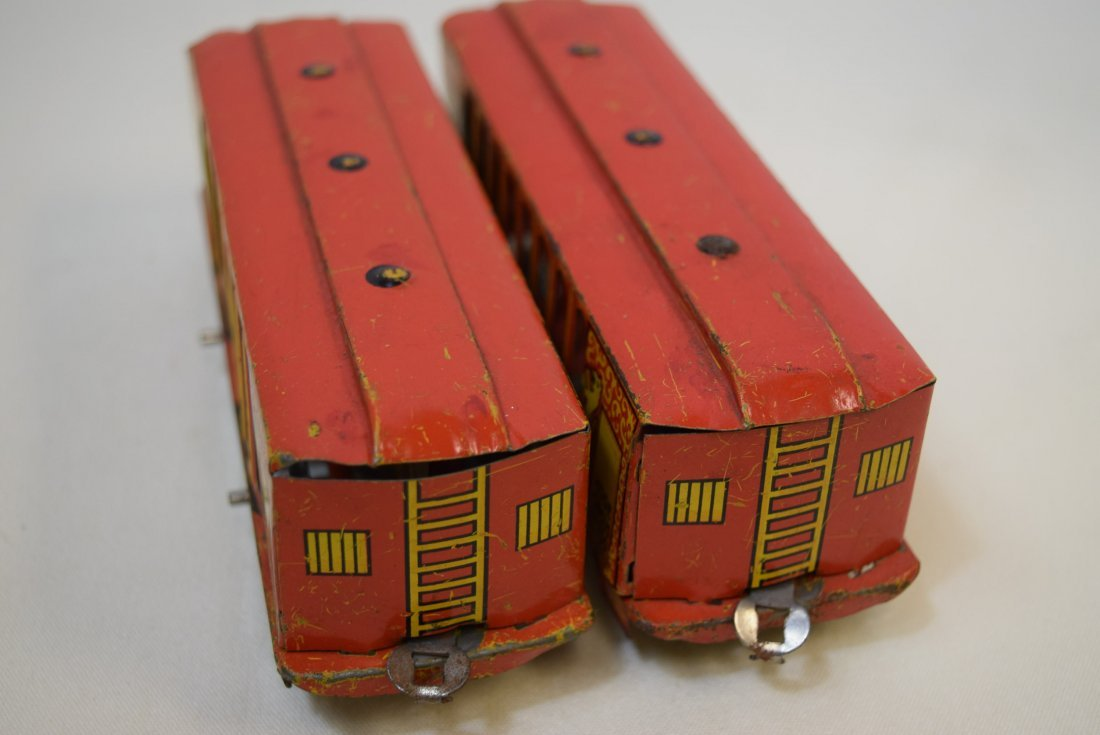 2 VERY RARE HOGE ANIMATED CIRCUS CARS - 9