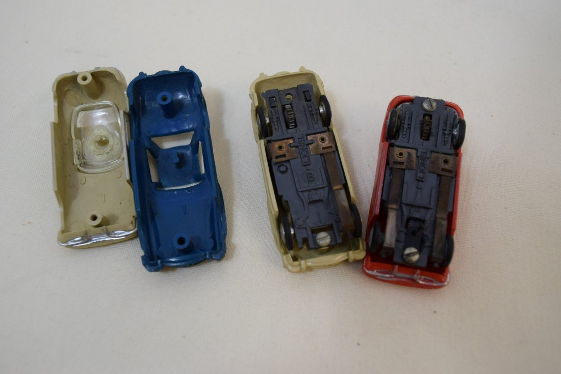 VINTAGE SLOT CARS BY LIONEL; MERCEDES AND CORVETTE - 3