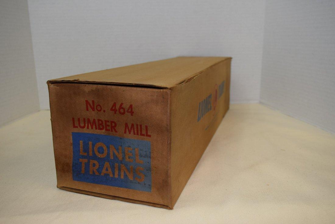 LIONEL LUMBER MILL 464 IN ORIGINAL BOX