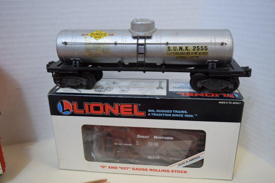 LIONEL TARGET RANGE CAR-TANKER CAR & MORE - 3