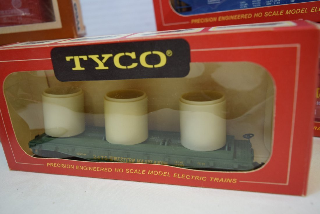 6 TYCO TRAIN CARS IN ORIGINAL BOXES HO SCALE - 3