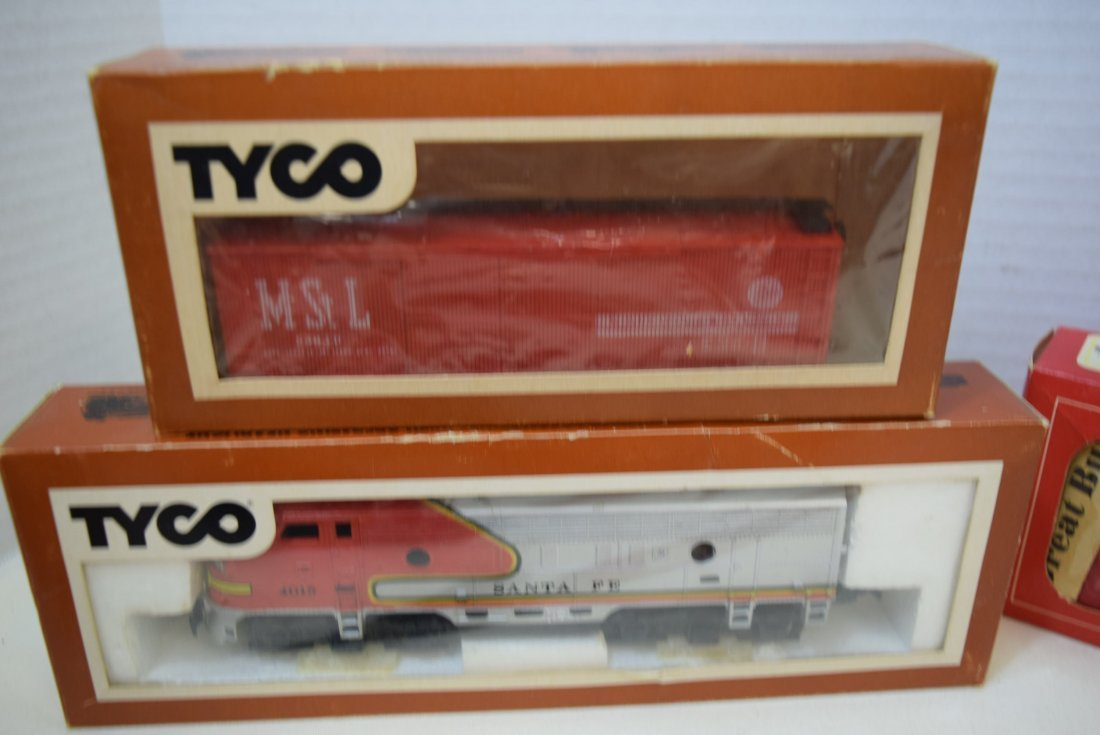 6 TYCO TRAIN CARS IN ORIGINAL BOXES HO SCALE - 5
