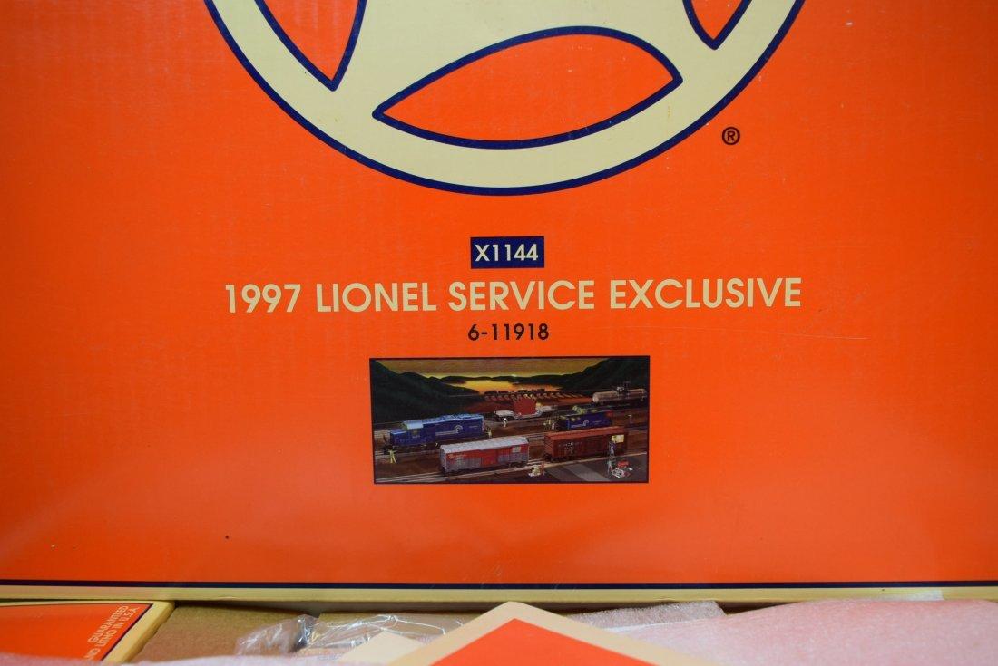 1997 X-1144 LIONEL SERVICE EXCLUSIVE 6-11918 - 3
