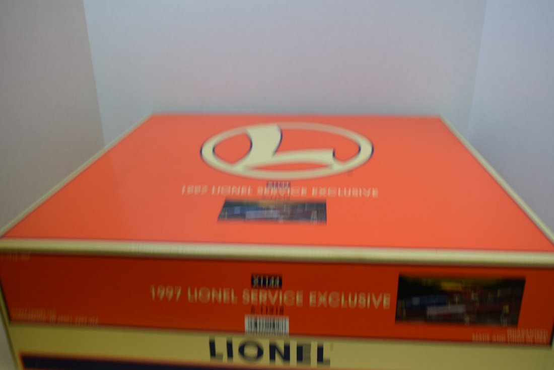 1997 X-1144 LIONEL SERVICE EXCLUSIVE 6-11918 - 8