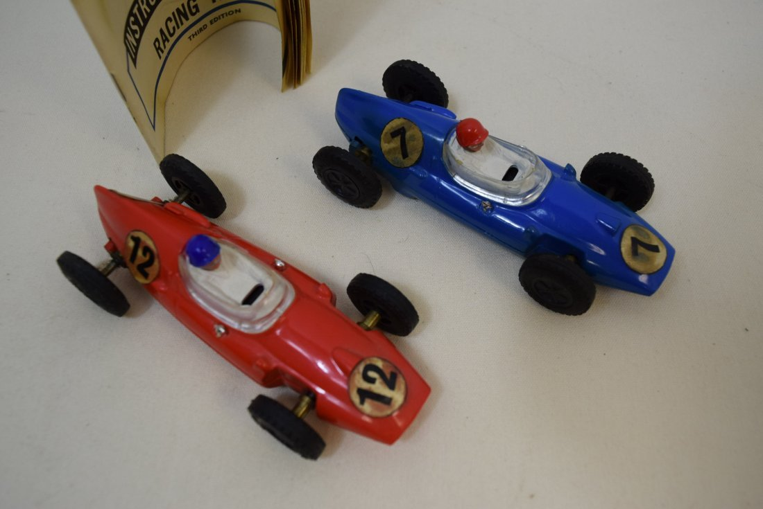 2 VINTAGE SCALECTRIC COOPERS BY TRI-ANG - 2