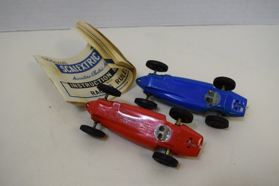 2 VINTAGE SCALECTRIC COOPERS BY TRI-ANG - 3