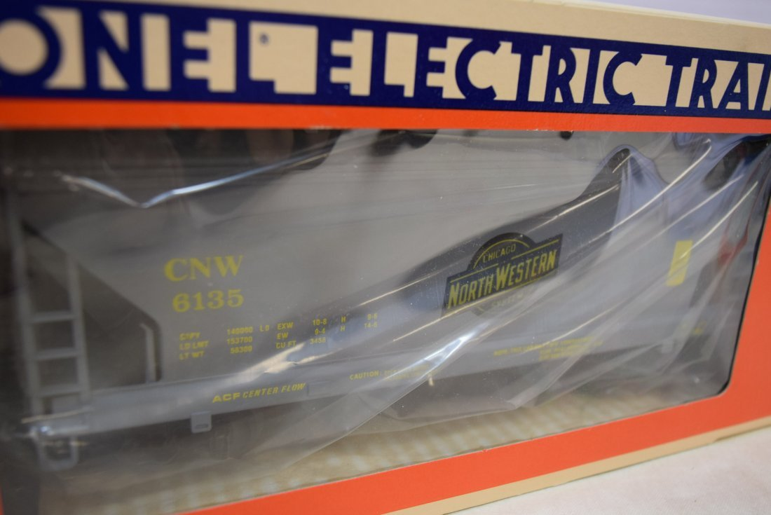 LIONEL TWO-BAY HOPPERS- NEW IN BOXES - 3