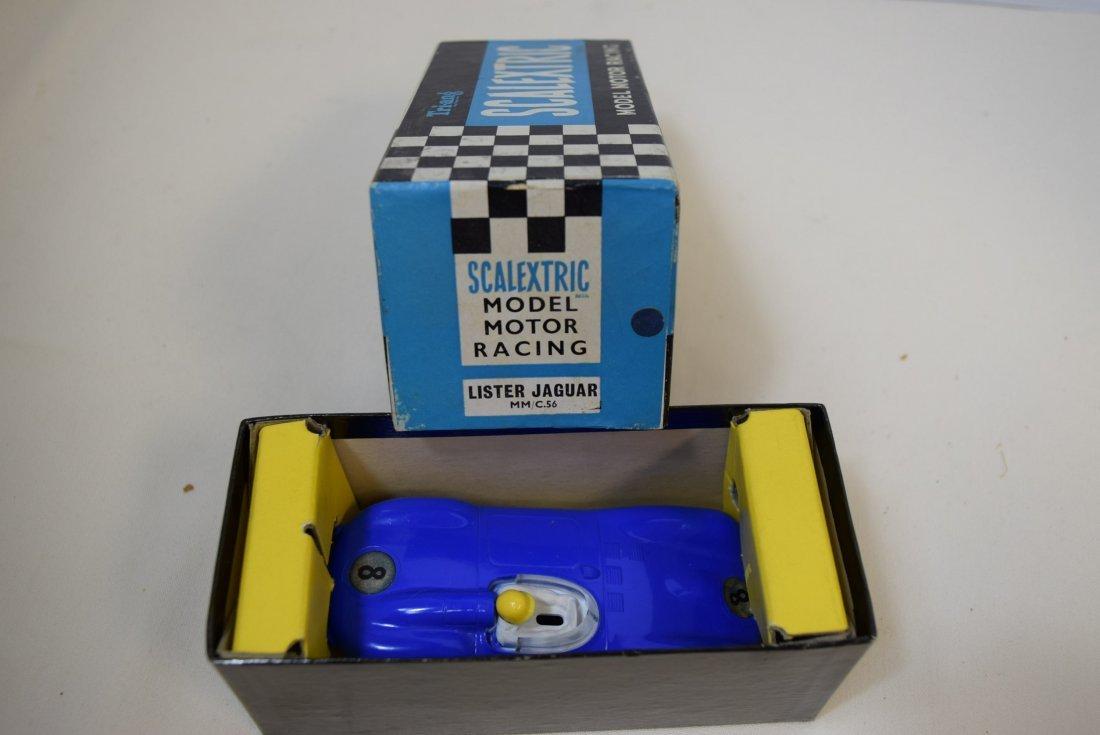 SCALEXTRIC LISTER JAGUAR SLOT CAR RACER IN ORIGINA - 4