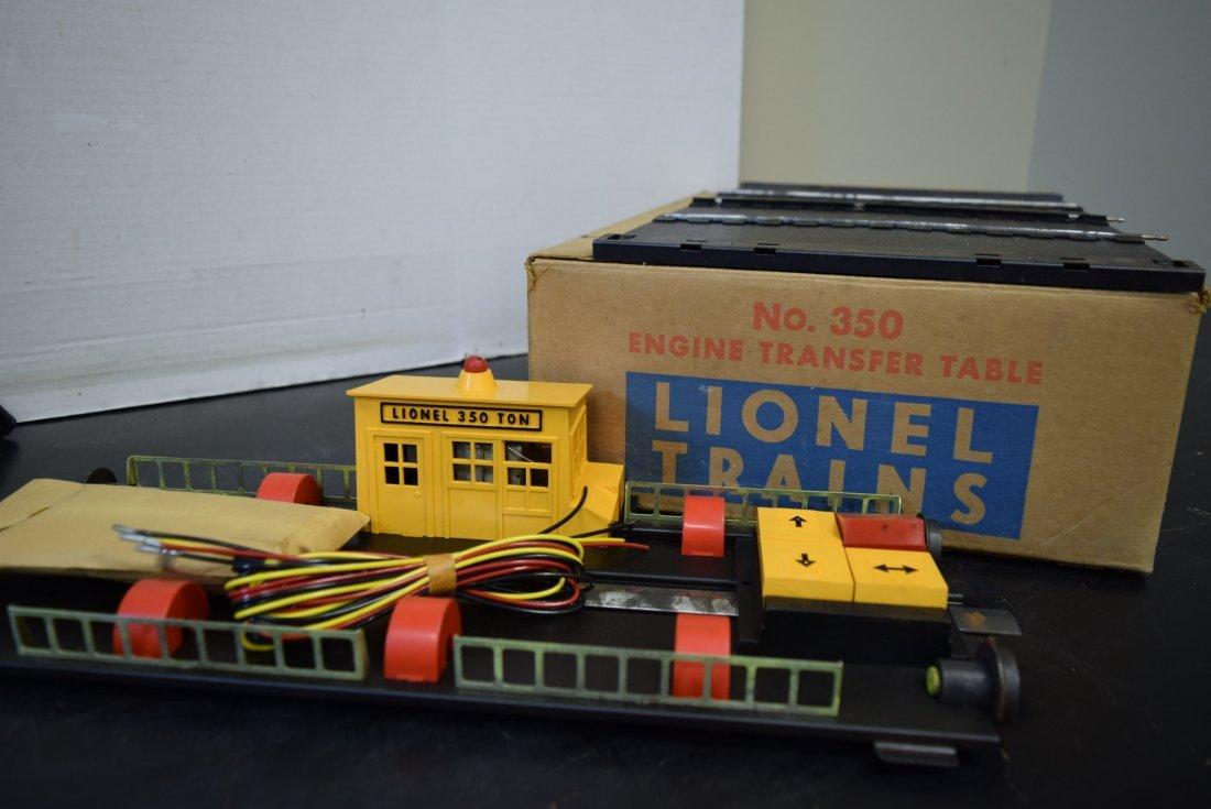 LIONEL ENGINE TRANSFER TABLE 350 NIB