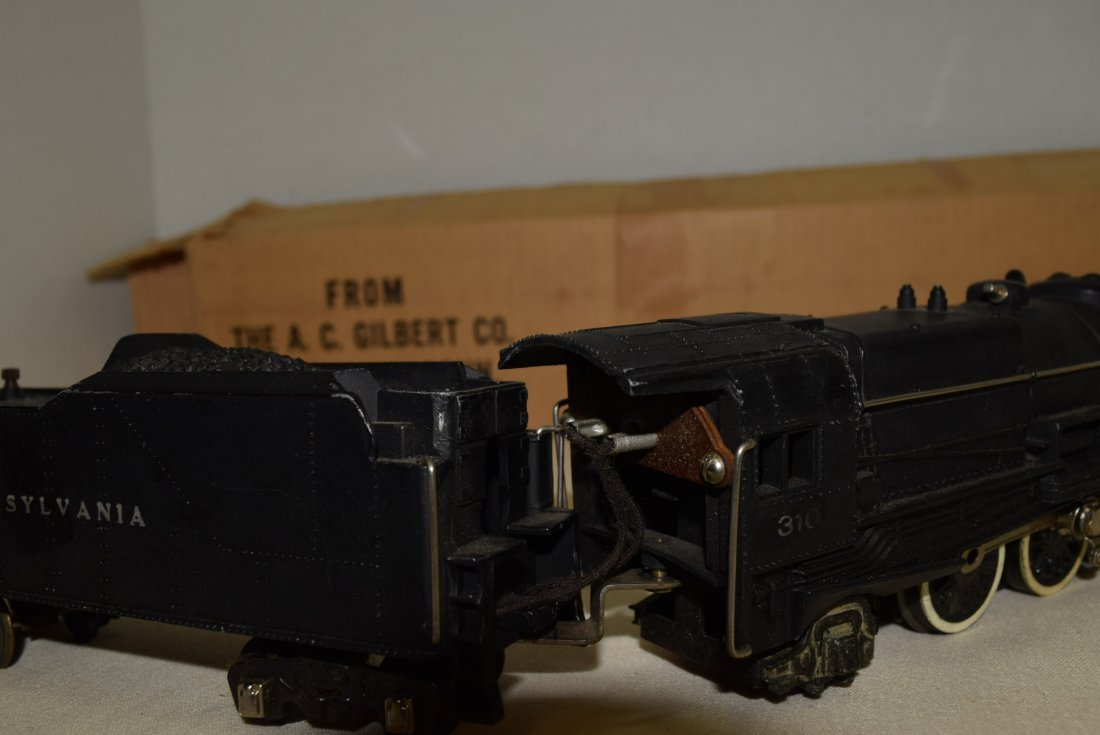 1940S AMERICAN FLYER LOCOMOTIVE AND TENDER IN ORIG - 8