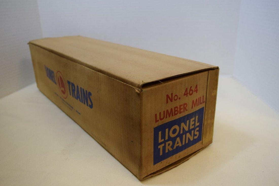 LIONEL TRAINS LUMBER MILL 464 IN ORIGINAL BOX - 5