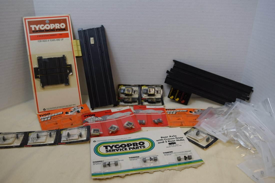 SLOT CAR SERVICE PARTS BY TYCO
