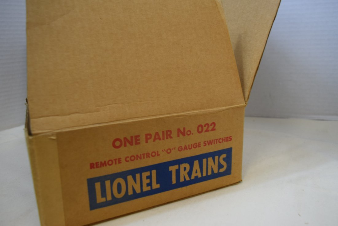 LIONEL REMOTE CONTROL O GAUGE SWITCHES - 3