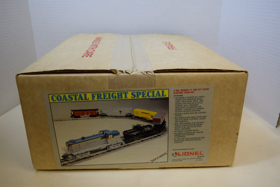 LIONEL COASTAL FREIGHT SPECIAL - NEW IN SEALED BOX