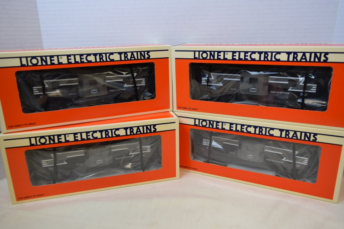 NIB 4 LIONEL NEW YORK CENTRAL BAY WINDOW CABOOSE 6