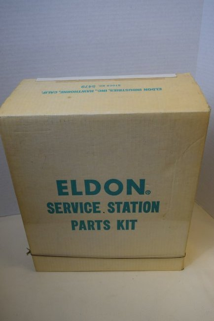 VERY RARE ELDON SERVICE STATION PARTS KIT