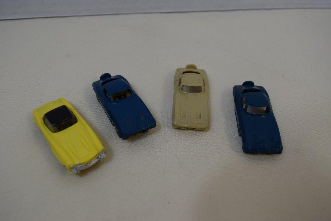 VINTAGE LIONEL MERCEDES AND CORVETTE SLOT CARS