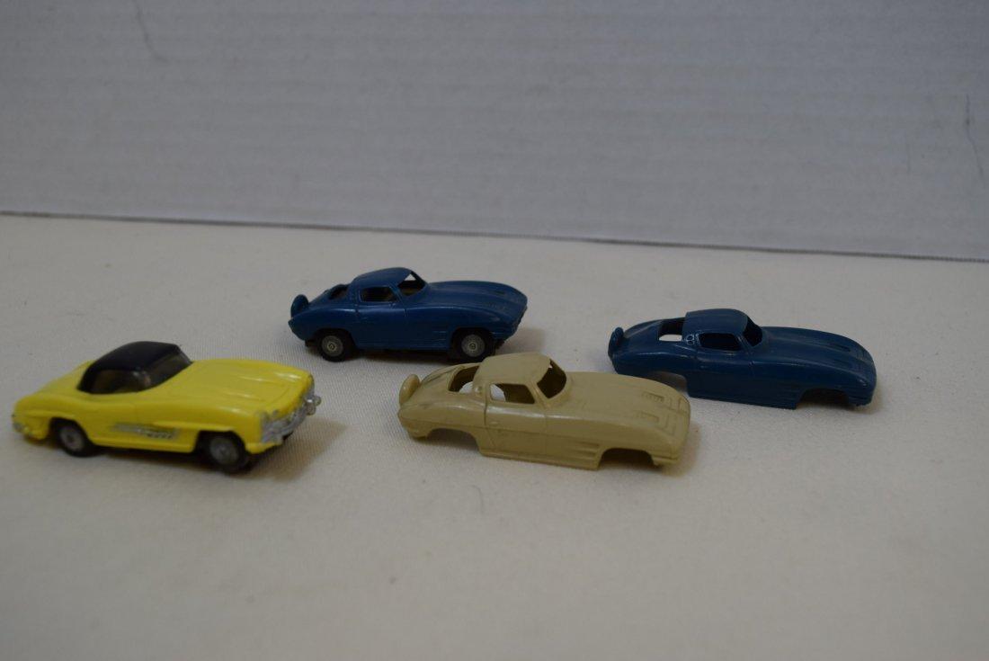 VINTAGE LIONEL MERCEDES AND CORVETTE SLOT CARS - 2