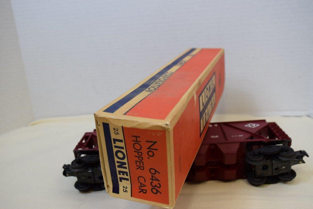 LIONEL 6436 HOPPER CAR NIB - 5